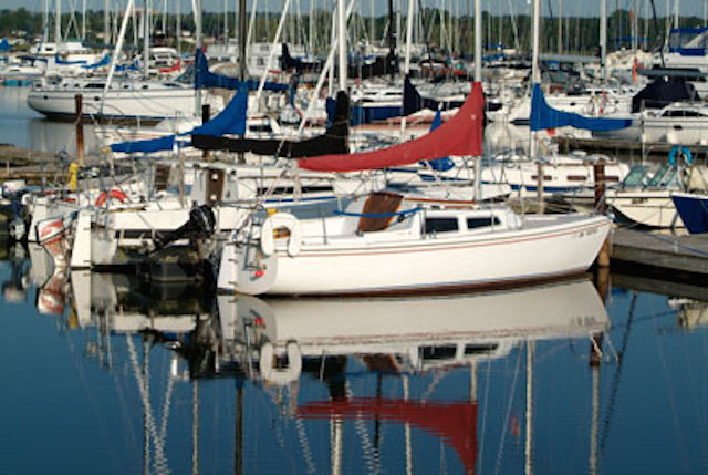 Durham Region has great waterfront activities and marinas